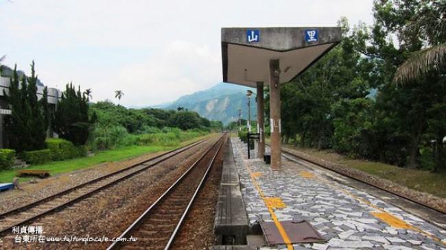 山里車站 彩